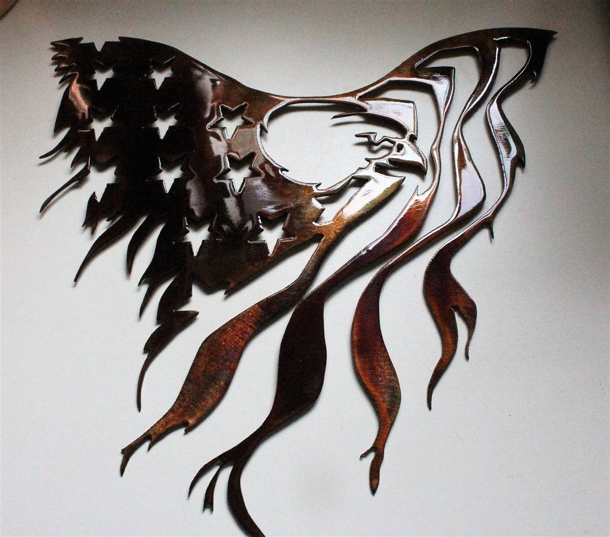 Featured Photo of Eagle Metal Wall Art