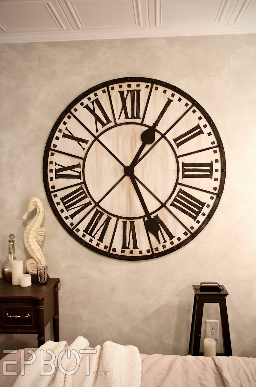 Electric Wall Clock Gear Wall Clock Big White Wall Clock Wall For Current Large Metal Wall Art Clocks (Gallery 7 of 20)
