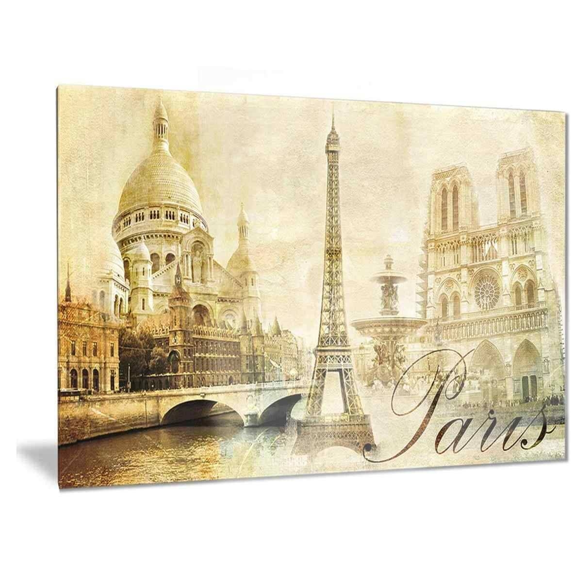 Epic Decorative Letters With Additional Epic Paris Metal Wall Art With Current Paris Metal Wall Art (View 3 of 20)