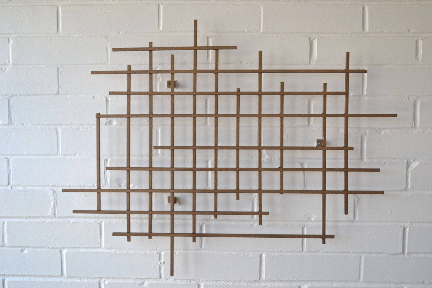 Featured Photo of Mid Century Metal Wall Art