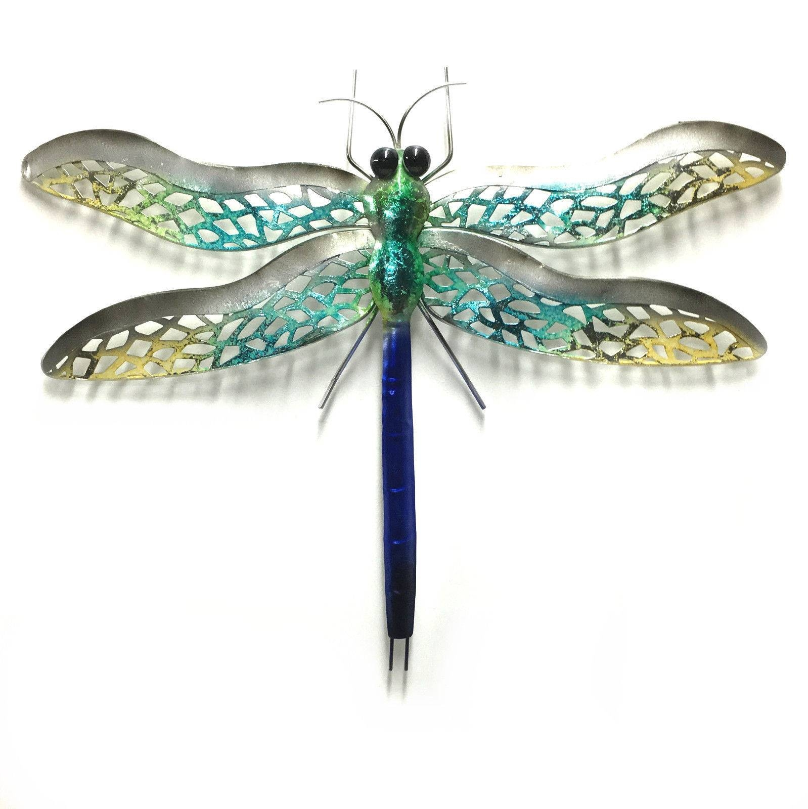 Ergonomic Dragonfly Wall Art Australia Stained Glass Dragonfly Pertaining To Most Popular Dragonfly Metal Wall Art (View 8 of 20)