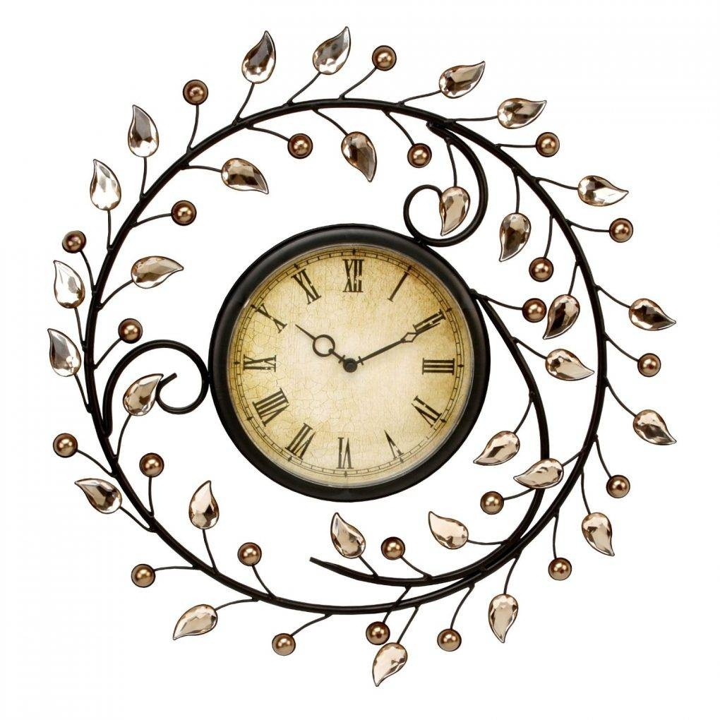 Ergonomic Metal Wall Clock Art 116 Artisanti Large Metal Skeleton With Recent Large Metal Wall Art Clocks (View 6 of 20)
