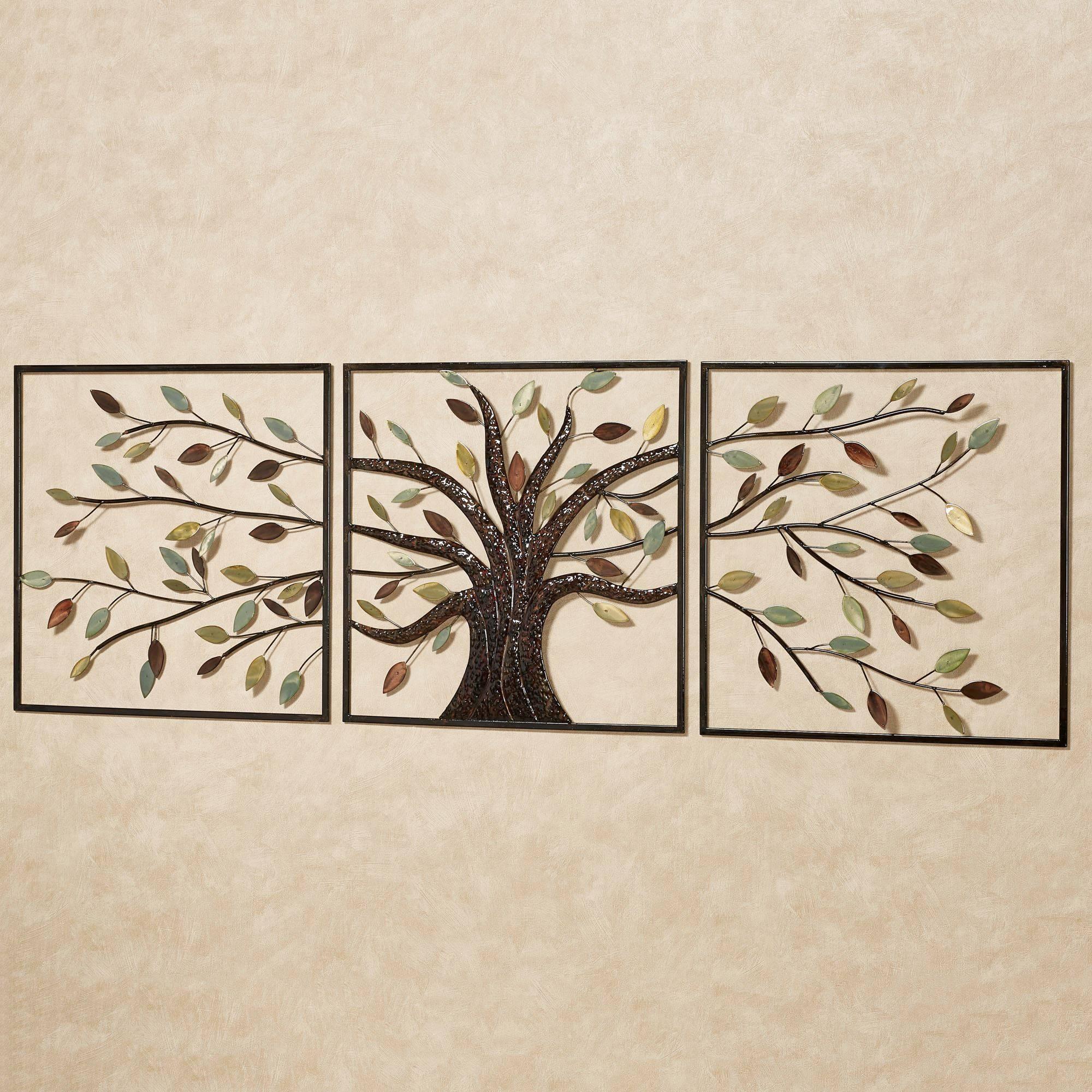 Ever Changing Brown Tree Metal Wall Art Set Regarding Most Recent Brown Metal Wall Art (View 2 of 20)