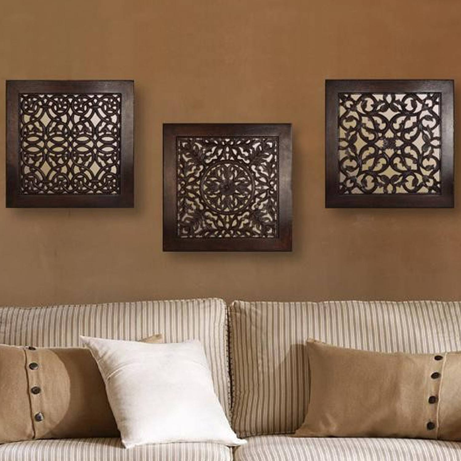 Excellent Wall Ideas Square Scroll Indoor Outdoor Design Ideas Inside Most Up To Date Square Metal Wall Art (View 2 of 20)