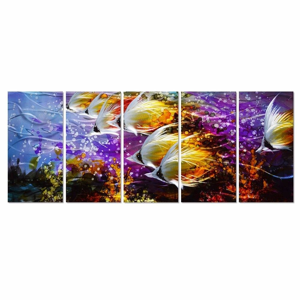 Exclusive Inspiration Colorful Metal Wall Art Fish Mexican With Regard To Most Up To Date Colorful Metal Wall Art (View 8 of 20)
