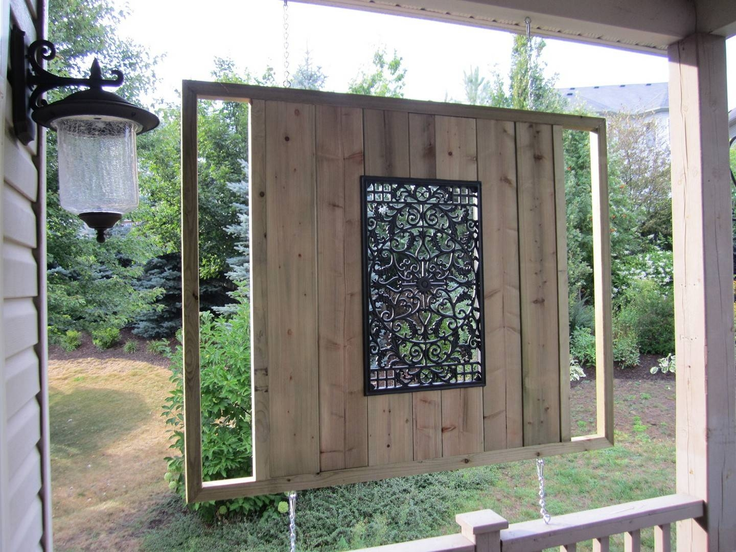 Exterior: Outdoor Wall Art With Wrought Iron Outdoor Decor And Pertaining To Most Recent Outdoor Metal Wall Art (View 5 of 20)