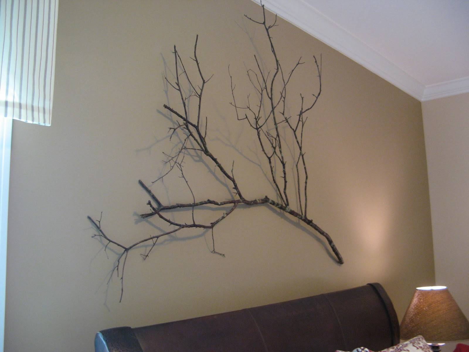 Extraordinary Design Branch Wall Art Metal Diy 2 Pc Set Birch For Most  Recent Metal Wall