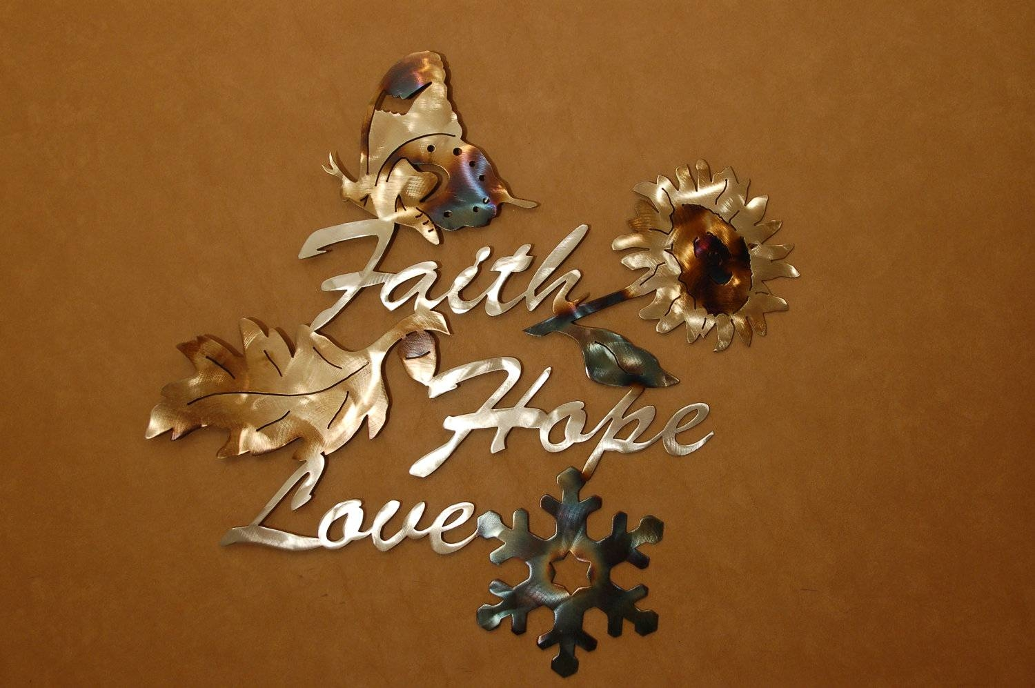 Faith Hope And Love Wall Art | Wallartideas Intended For 2018 Faith Hope Love Metal Wall Art (View 3 of 20)
