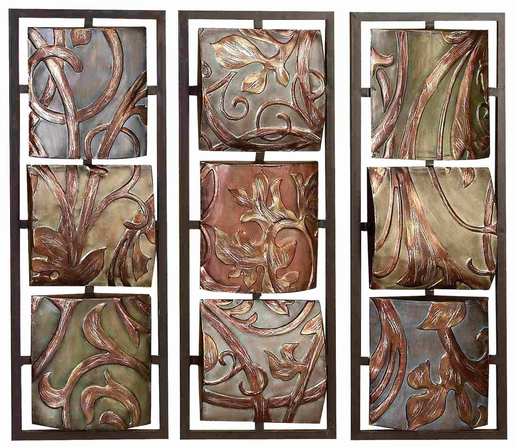 Faux Metal Wall Decor • Walls Decor With Regard To Most Up To Date Faux Metal Wall Art (View 9 of 20)