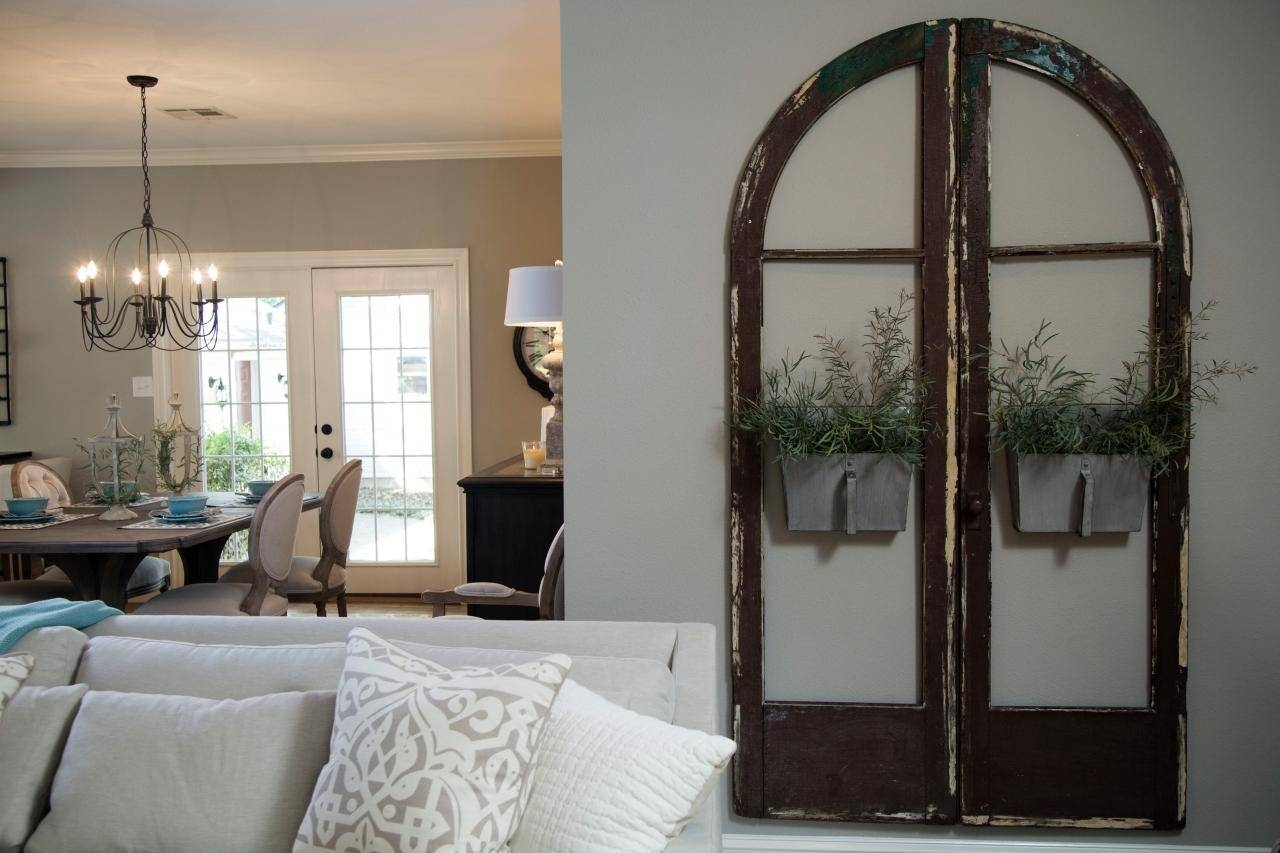 Fill Your Walls With 'fixer Upper' Inspired Artwork: 11 Easy To Intended For Best And Newest Metal Wall Art With Mirrors (View 20 of 20)