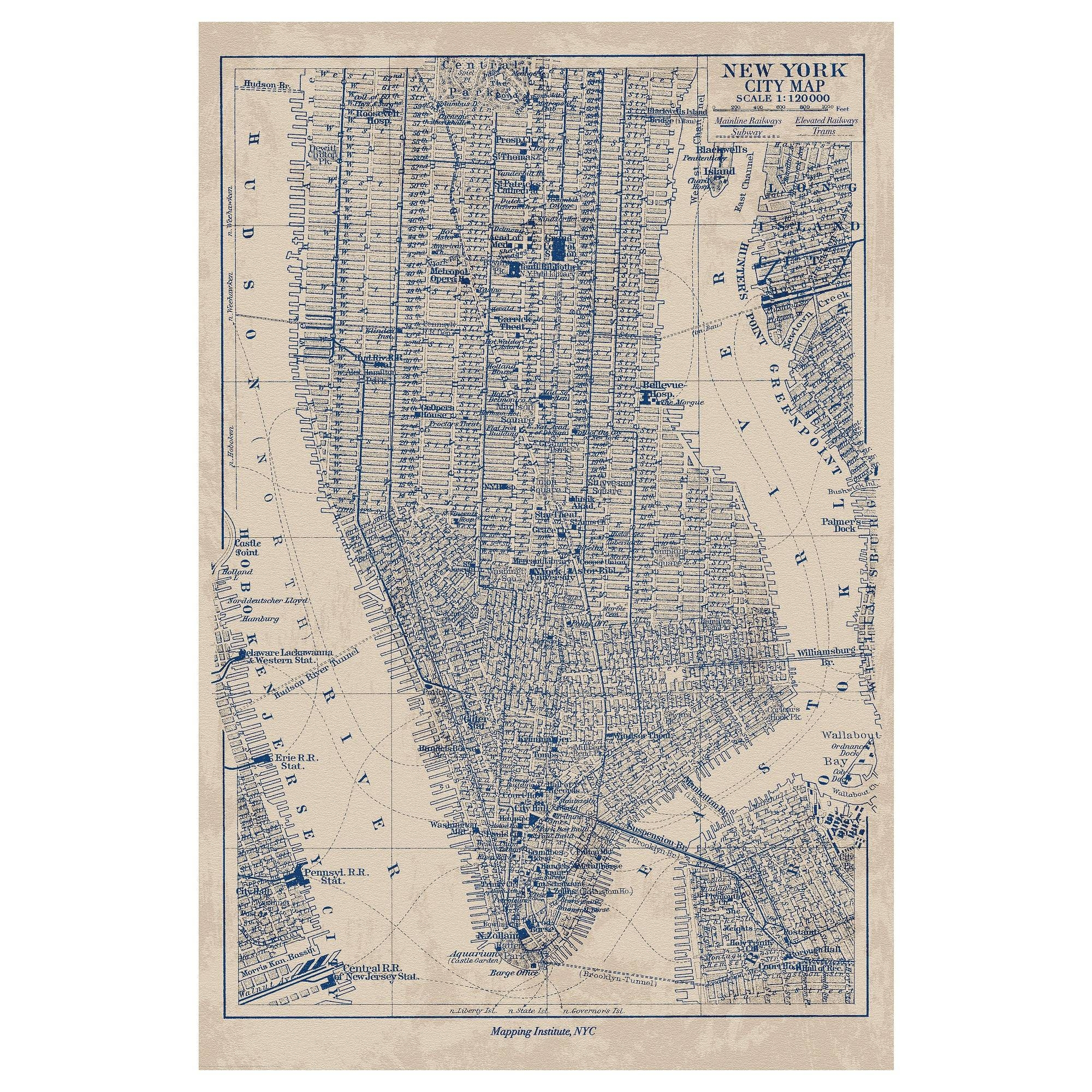 Fine New York Subway Map Poster And Creative Ideas Of Posters Wall Intended For 2017 New York Map Wall Art (View 1 of 20)
