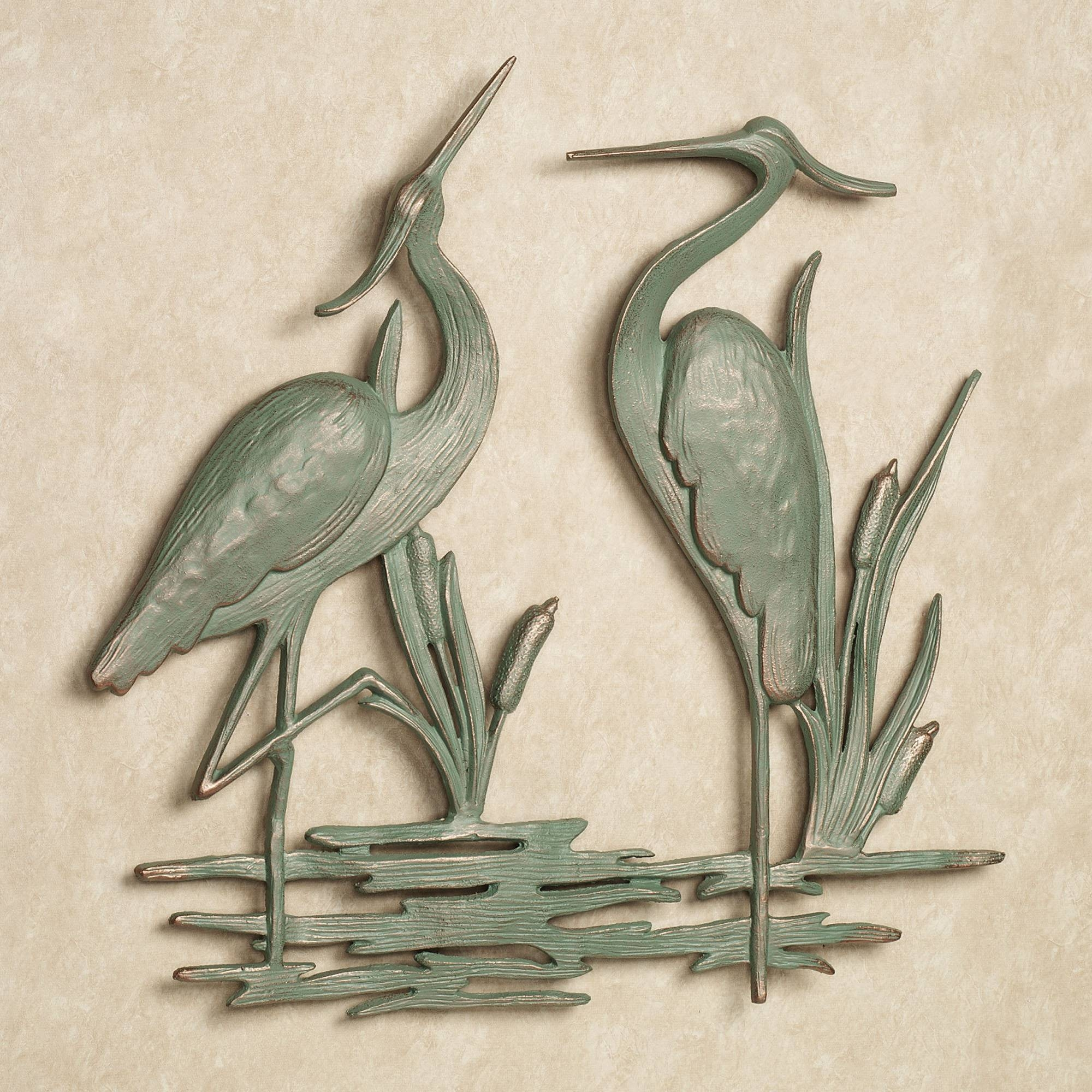 First Class Coastal Metal Wall Art Blue 3D Decor Outdoor Exterior With Regard To Most Recently Released Coastal Metal Wall Art (View 18 of 20)