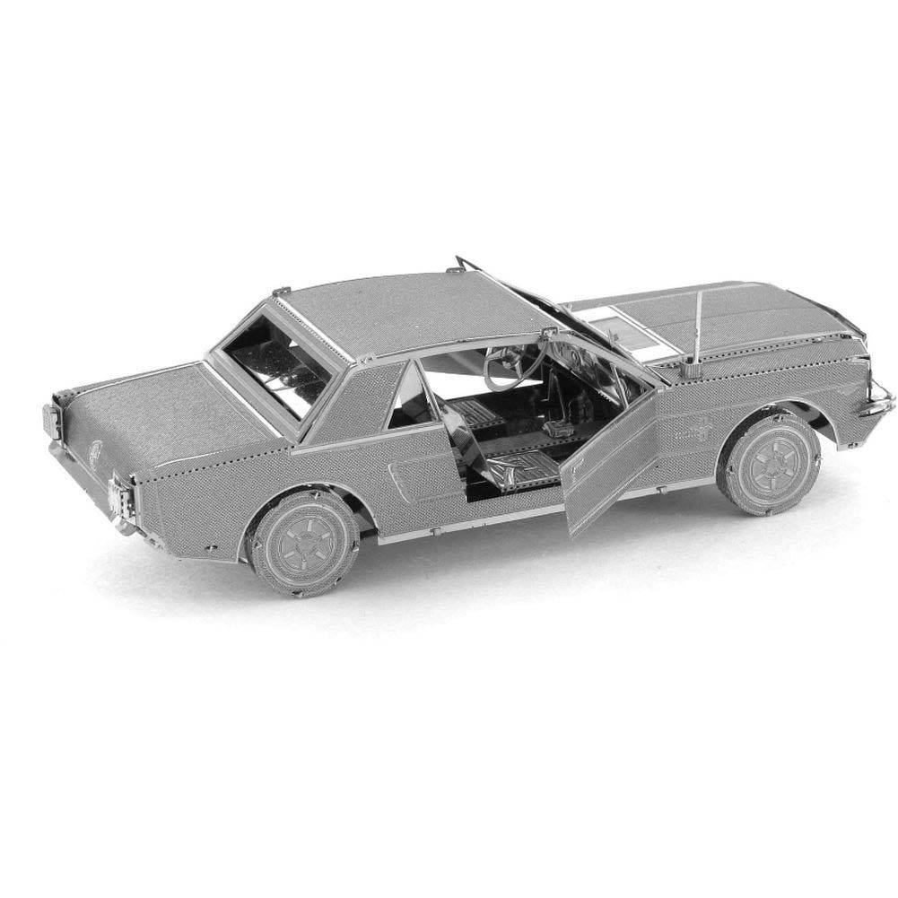 Ford Mustang Coupe Metal Earth 3D Laser Cut Model: 032309010565 Throughout Newest Ford Mustang Metal Wall Art (View 5 of 20)