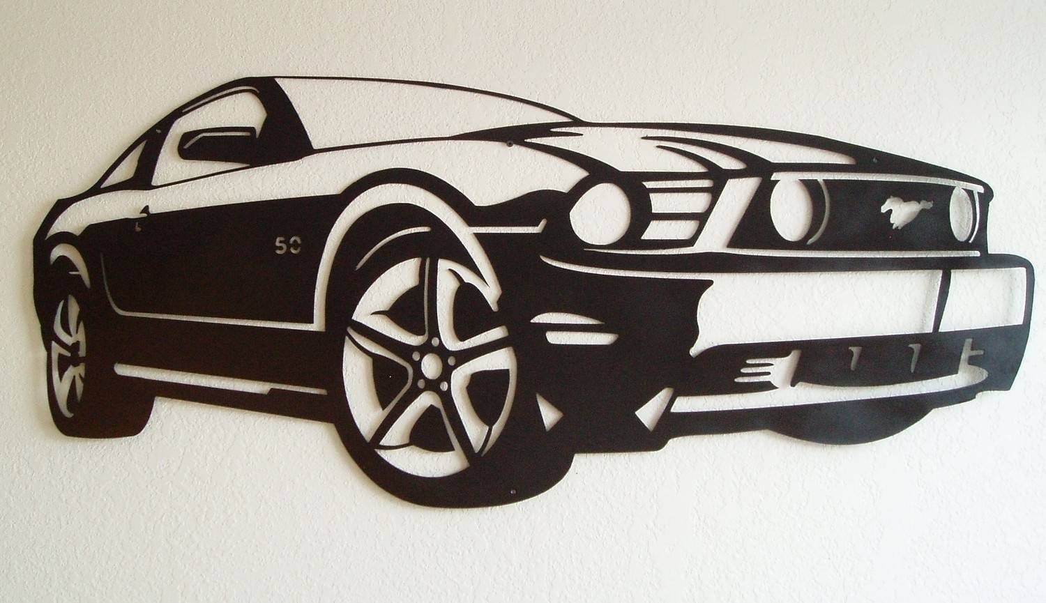 Ford Mustang Metal Wall Art With Regard To Most Current Car Metal Wall Art (View 12 of 20)