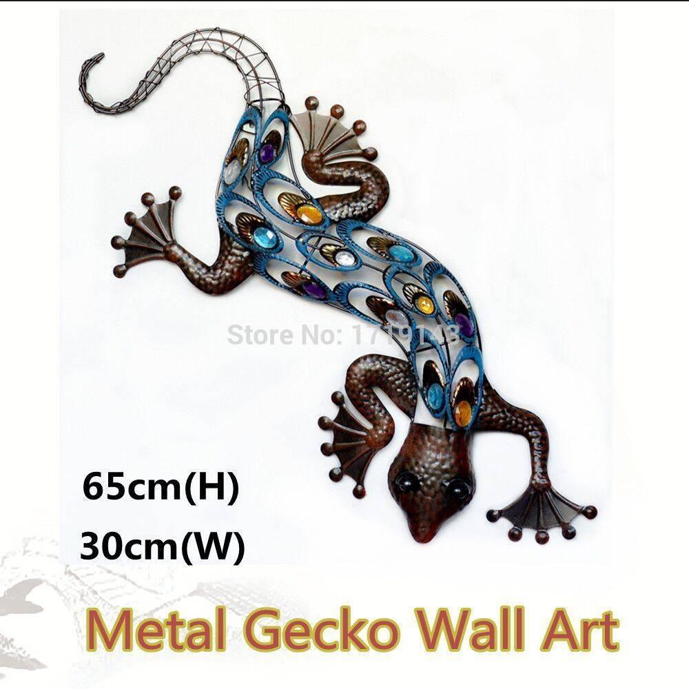 Gecko Wall Art Garden Pertaining To 2017 Gecko Metal Wall Art (View 6 of 20)