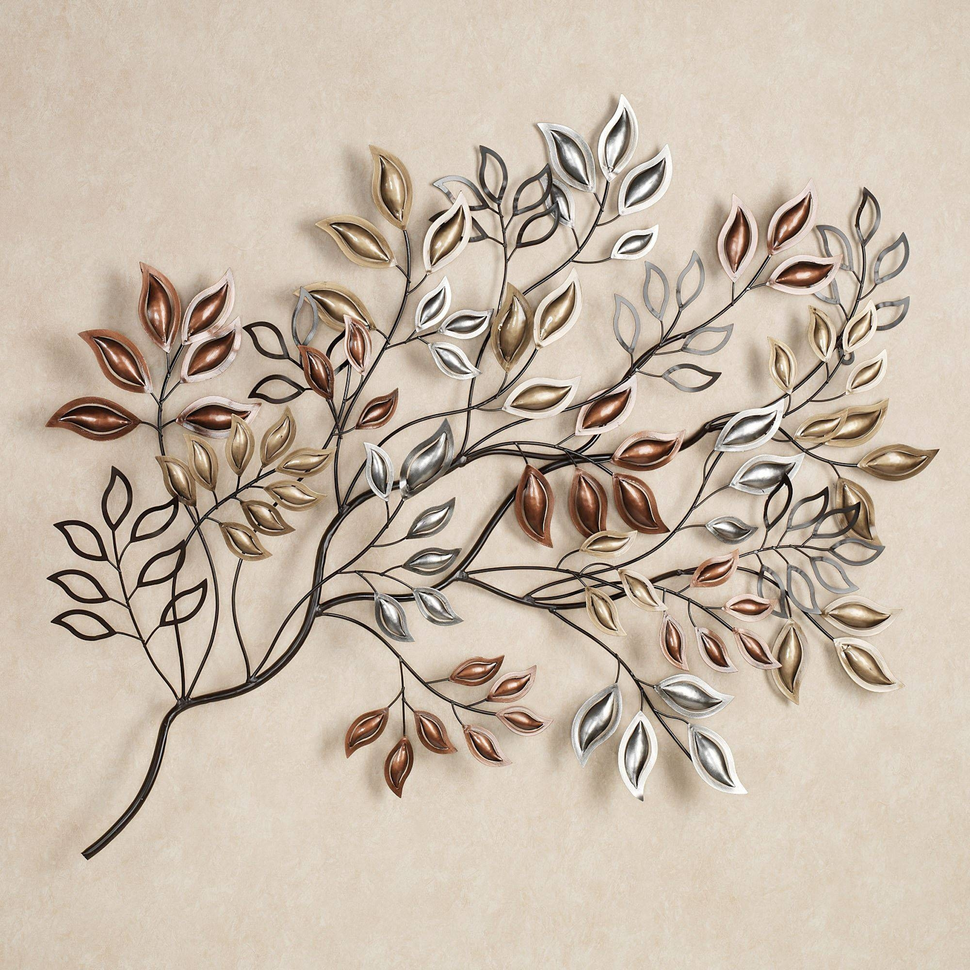 Featured Photo of Leaves Metal Wall Art