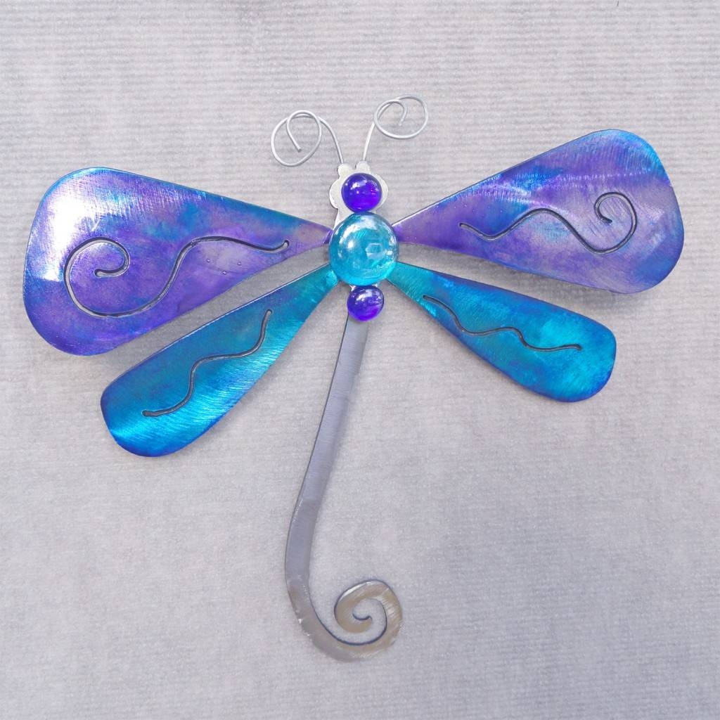 Gorgeous Dragonfly Wall Art Metal Dragonfly Metal Wall Art With Regard To Most Recent Dragonfly Metal Wall Art (Gallery 7 of 20)
