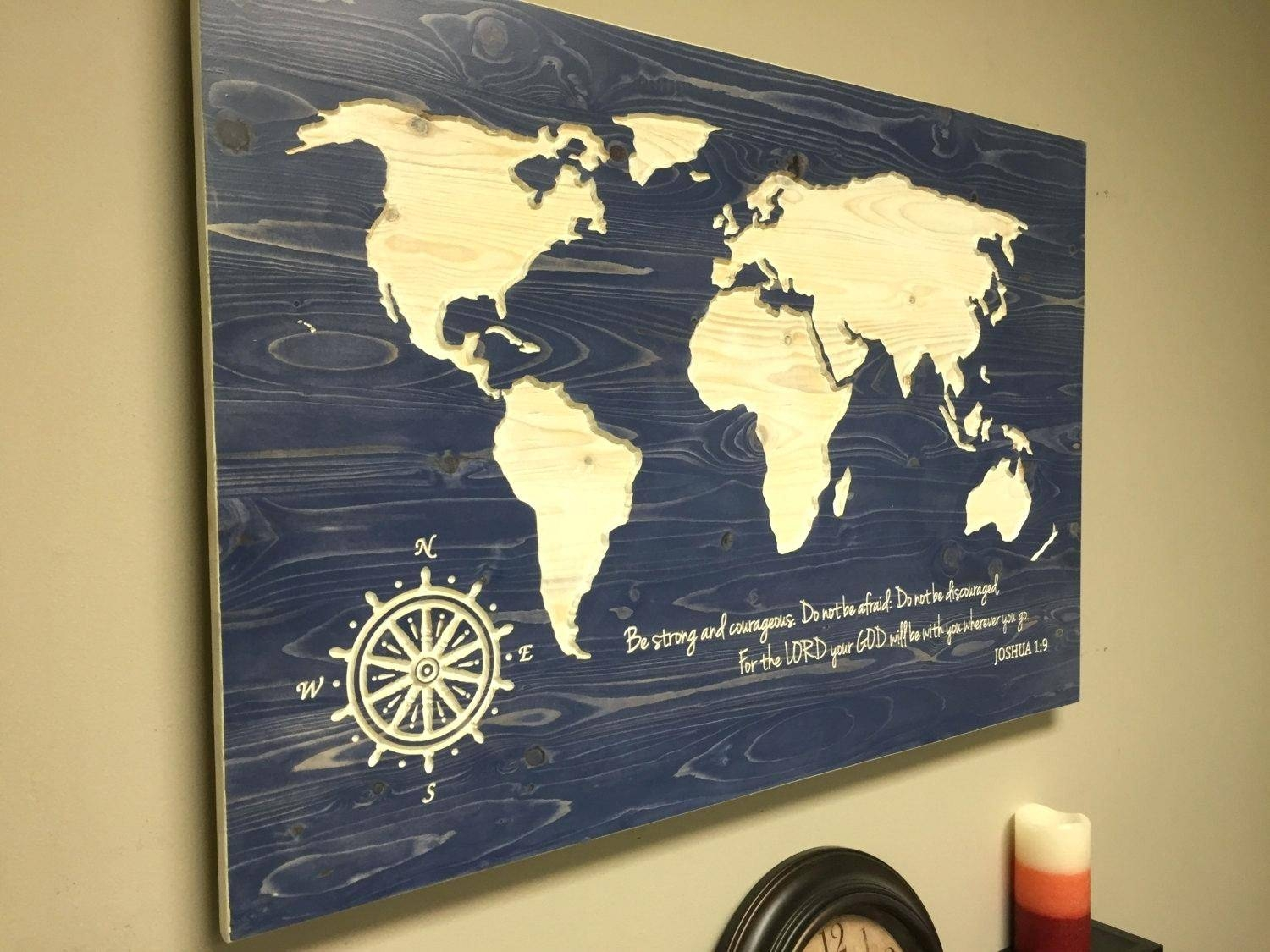 Hobby Lobby Us Map Canvas Map Wall Art Diy Usa Map Wall Art Diy For 2017 Wood Map Wall Art (View 6 of 20)