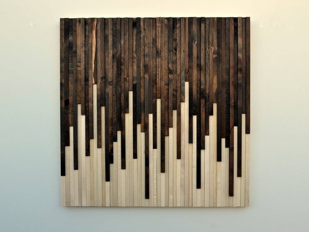 Home Design : Rustic Wood And Metal Wall Art Beach Style Expansive In Latest Wood Metal Wall Art (Gallery 13 of 20)