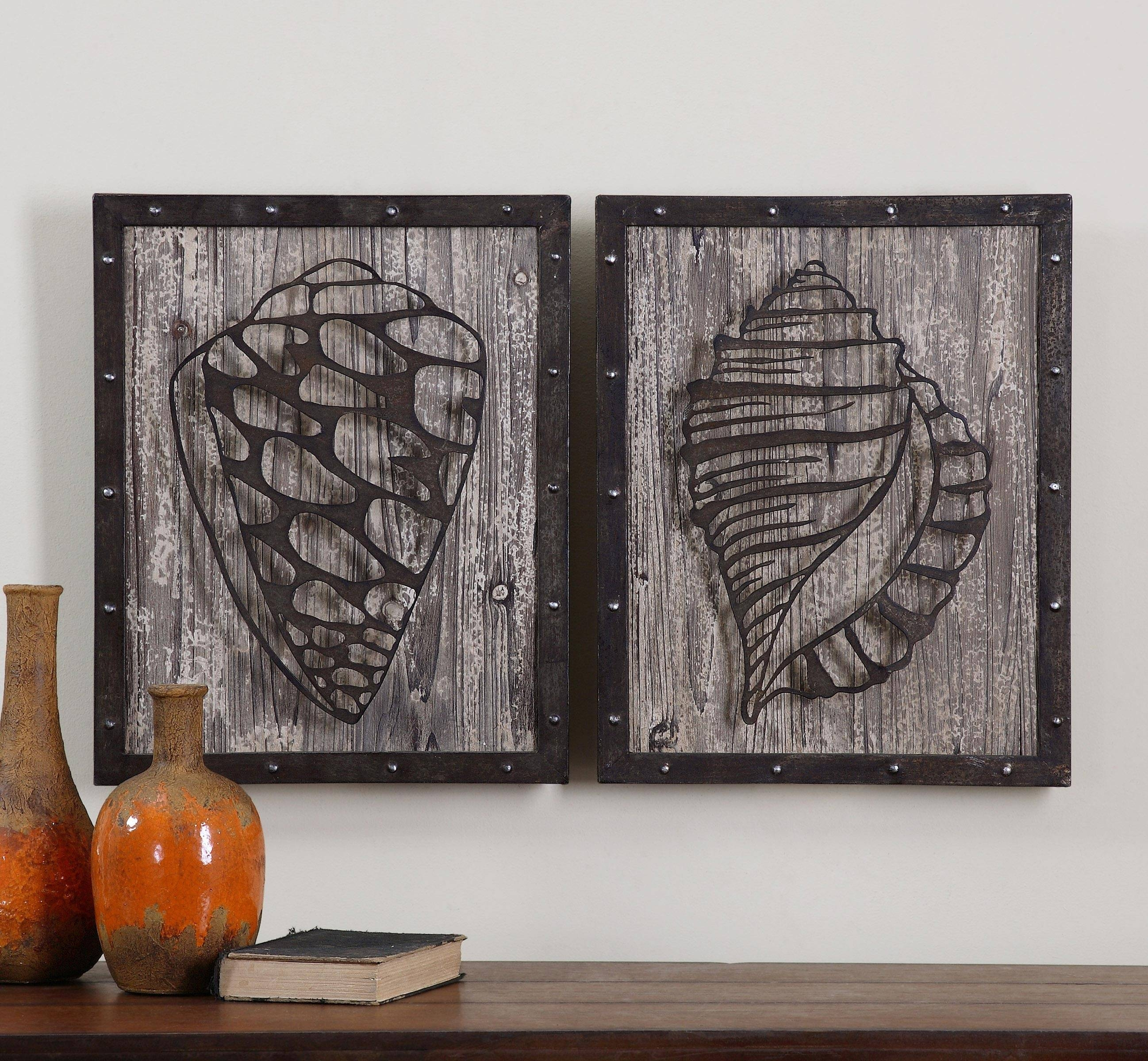 Home Design : Rustic Wood And Metal Wall Art Modern Large Rustic Intended For Best And Newest Wood Metal Wall Art (Gallery 10 of 20)
