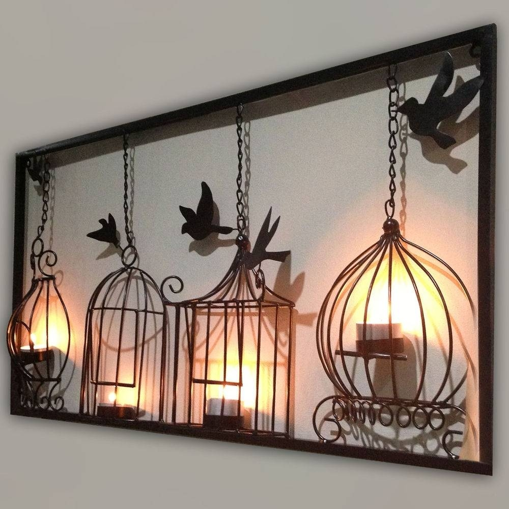 Home Design : Superb Large Iron Wall Decor 7 Rustic Wood Art Metal In Most Recent Wood Metal Wall Art (View 12 of 20)