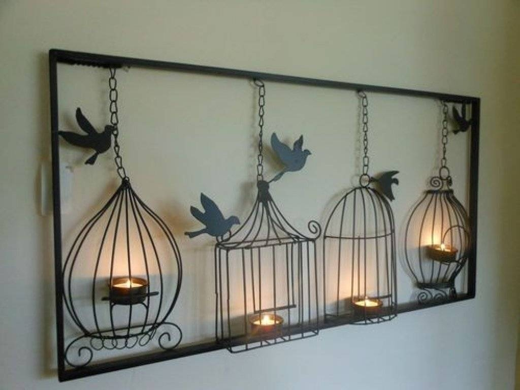 Home Interior Bird Cage White Decorative Bird Cages For Sale Furniture With Regard To 2018 Birdcage Metal Wall Art (View 10 of 20)