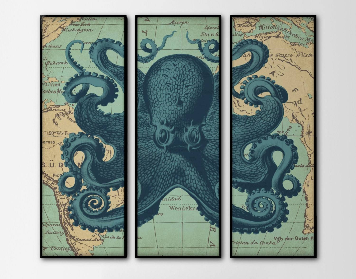 Home Interiors: Design Inspirations About Home Decor And Home Pertaining To Most Recent Nautical Map Wall Art (Gallery 12 of 20)