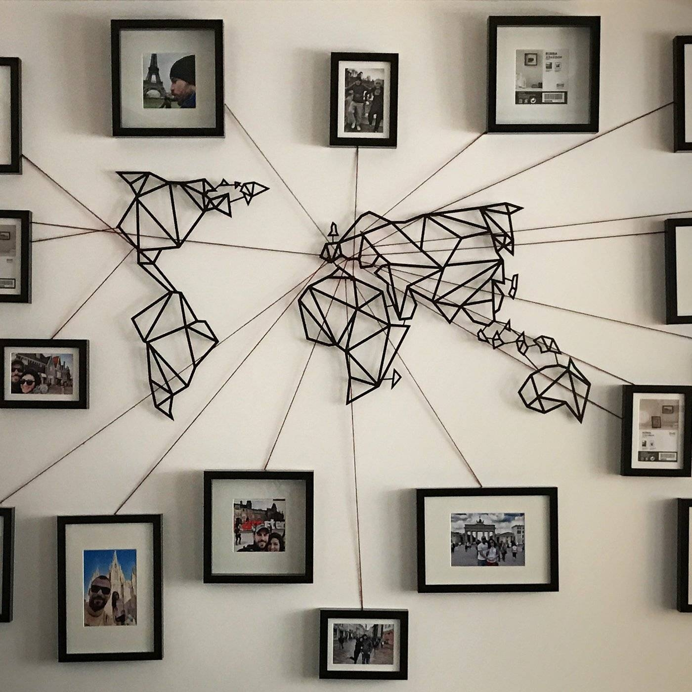 Home Interiors: Design Inspirations About Home Decor And Home With Newest World Map Wall Artwork (View 3 of 20)