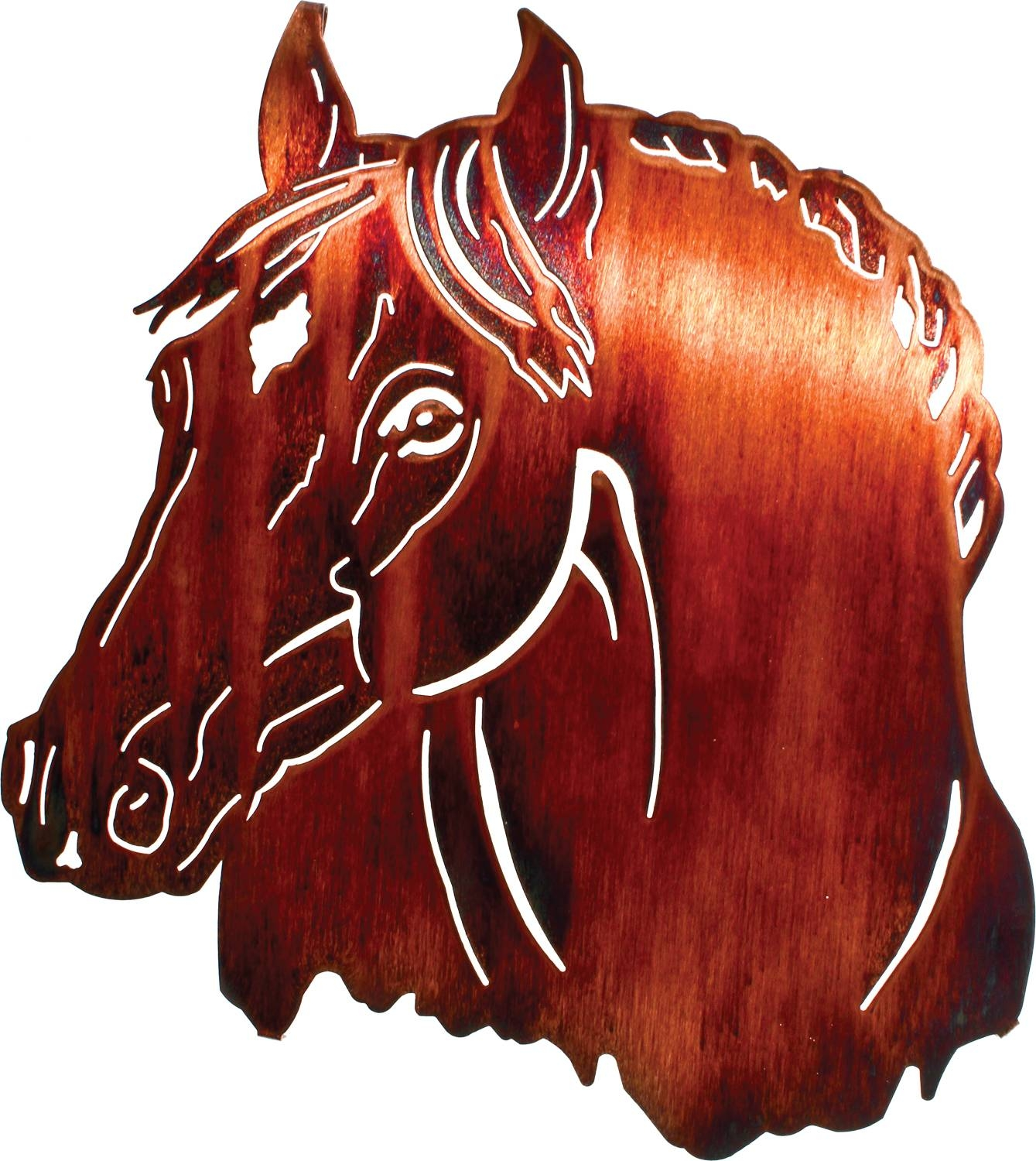 Horse Wall Art, Ponies Wall Hangings, Metal Wall Art Hangings Within Most Recent Horses Metal Wall Art (View 7 of 20)