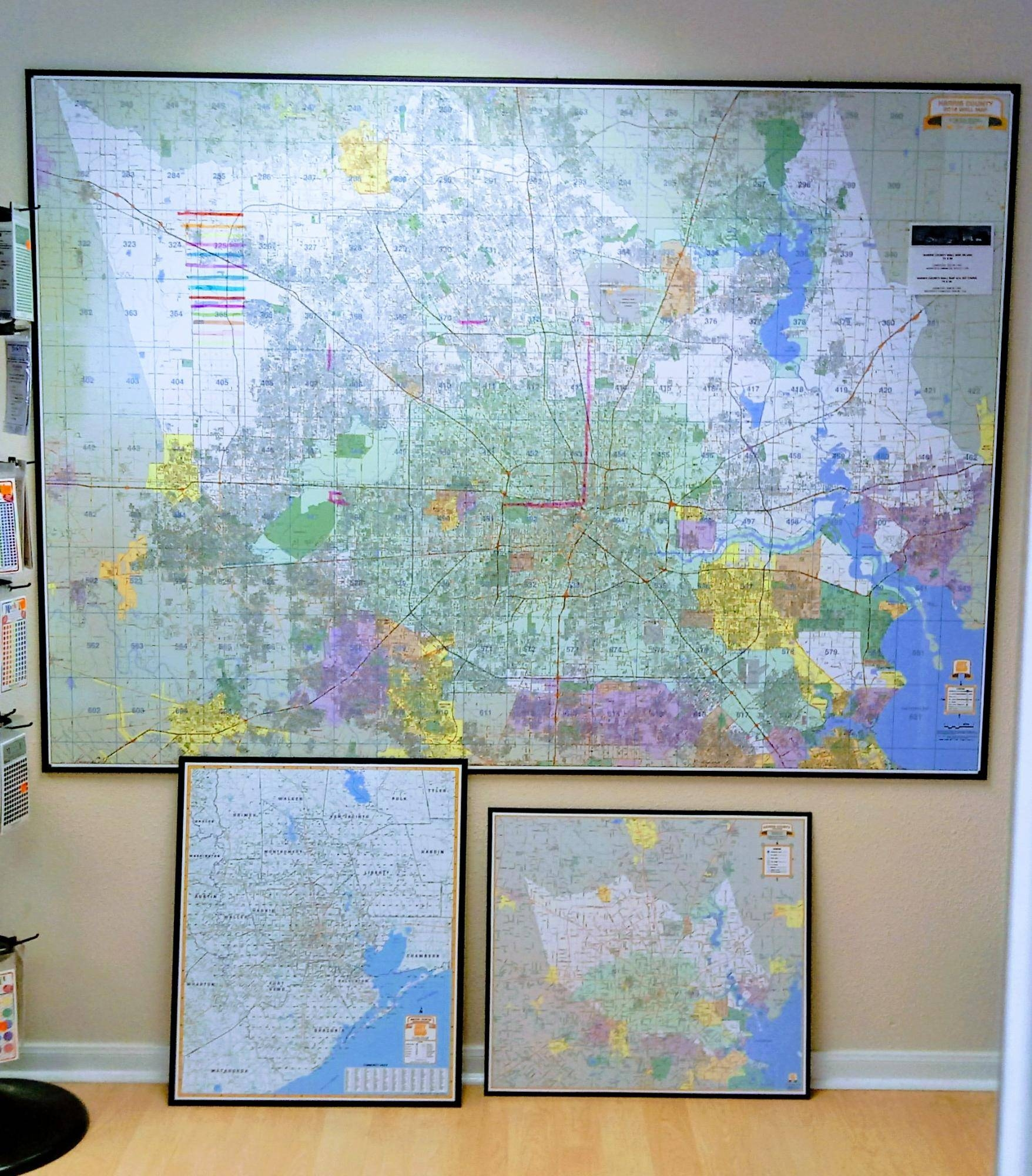 Houston Maps, Globes, Gis, Key Map Atlases Throughout Recent Houston Map Wall Art (Gallery 10 of 20)