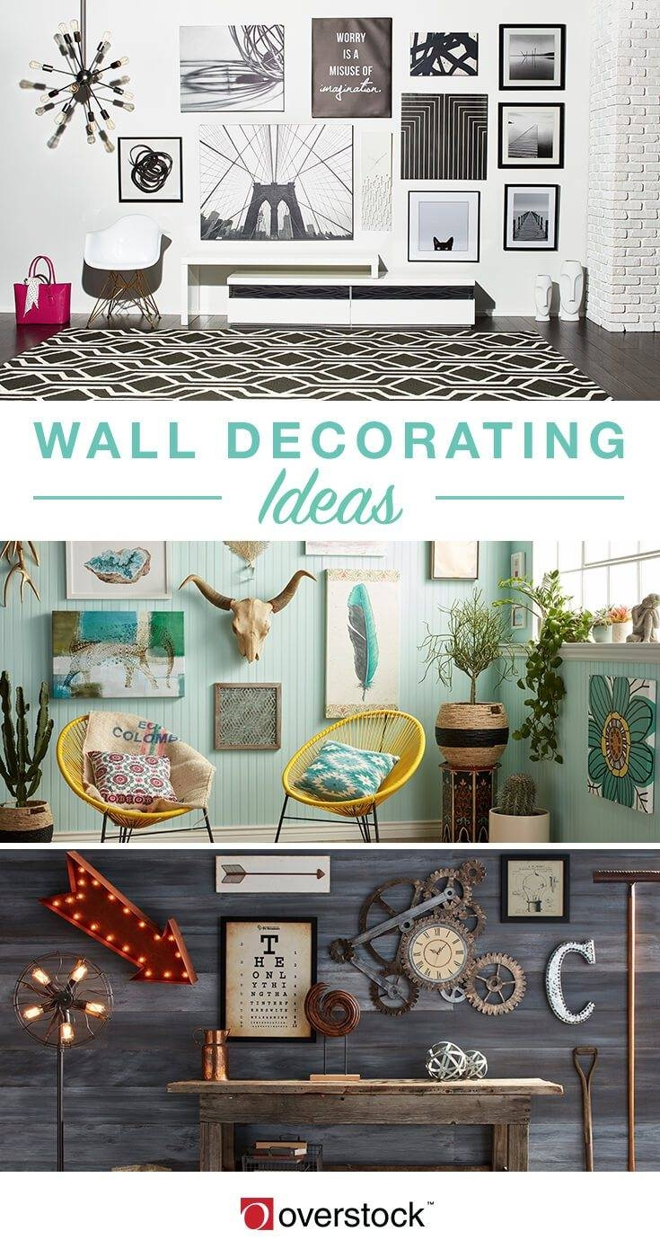 How To Decorate With Art And Wall Decor – Overstock With 2018 Overstock Metal Wall Art (View 3 of 20)
