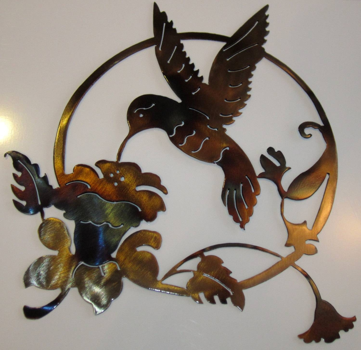 Hummingbird Metal Art Intended For Recent Hummingbird Metal Wall Art (Gallery 1 of 20)