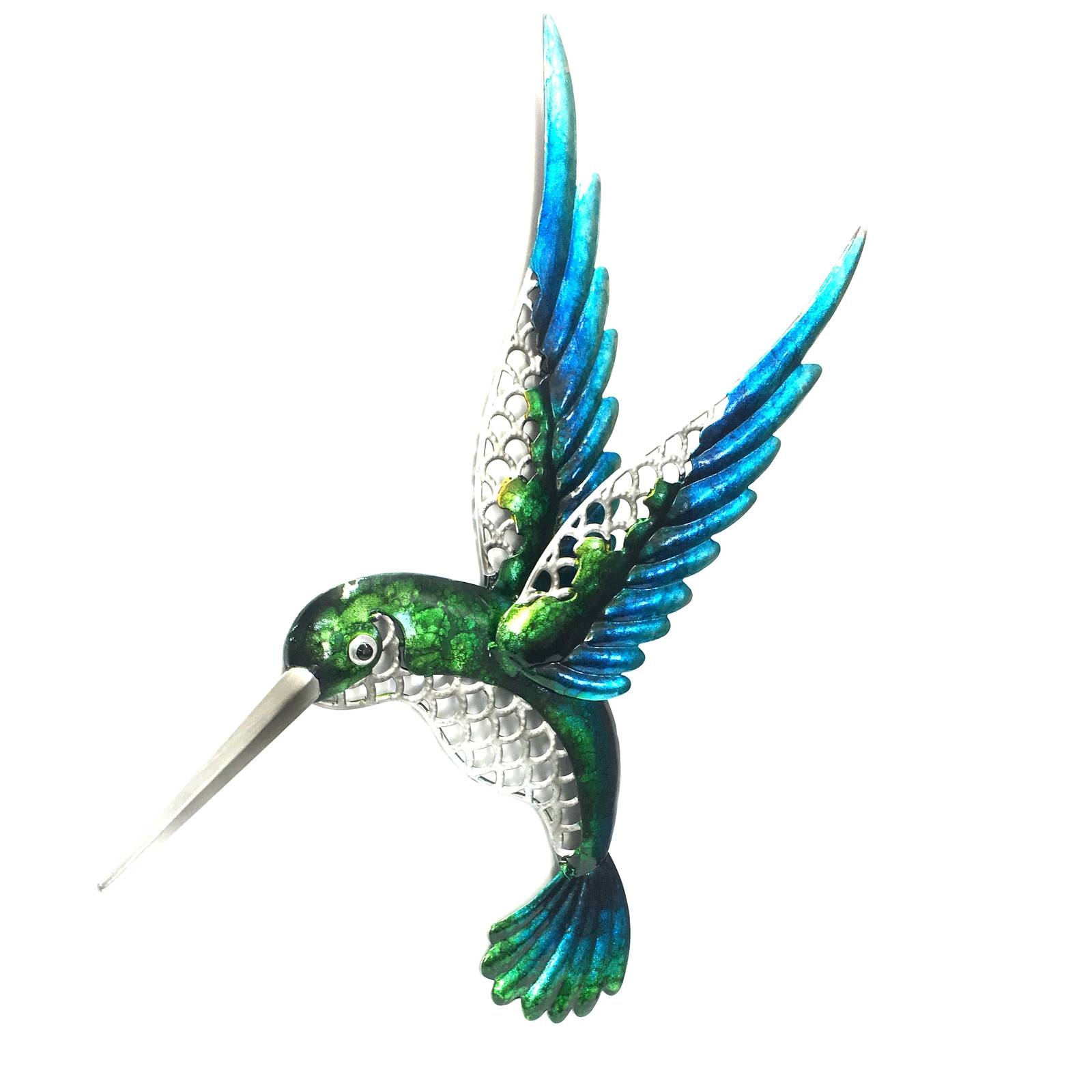 Hummingbird Metal Wall Art 46Cm In Most Current Hummingbird Metal Wall Art (View 5 of 20)