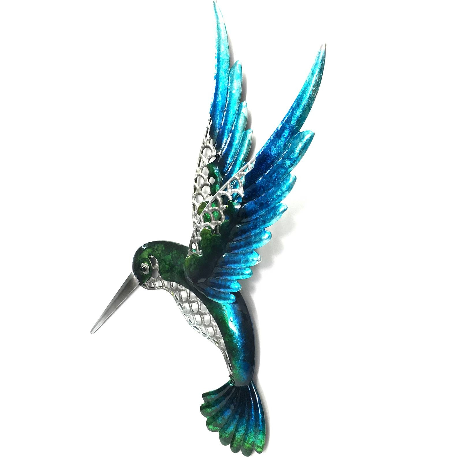 Hummingbird Metal Wall Art 46Cm Within 2018 Hummingbird Metal Wall Art (Gallery 6 of 20)