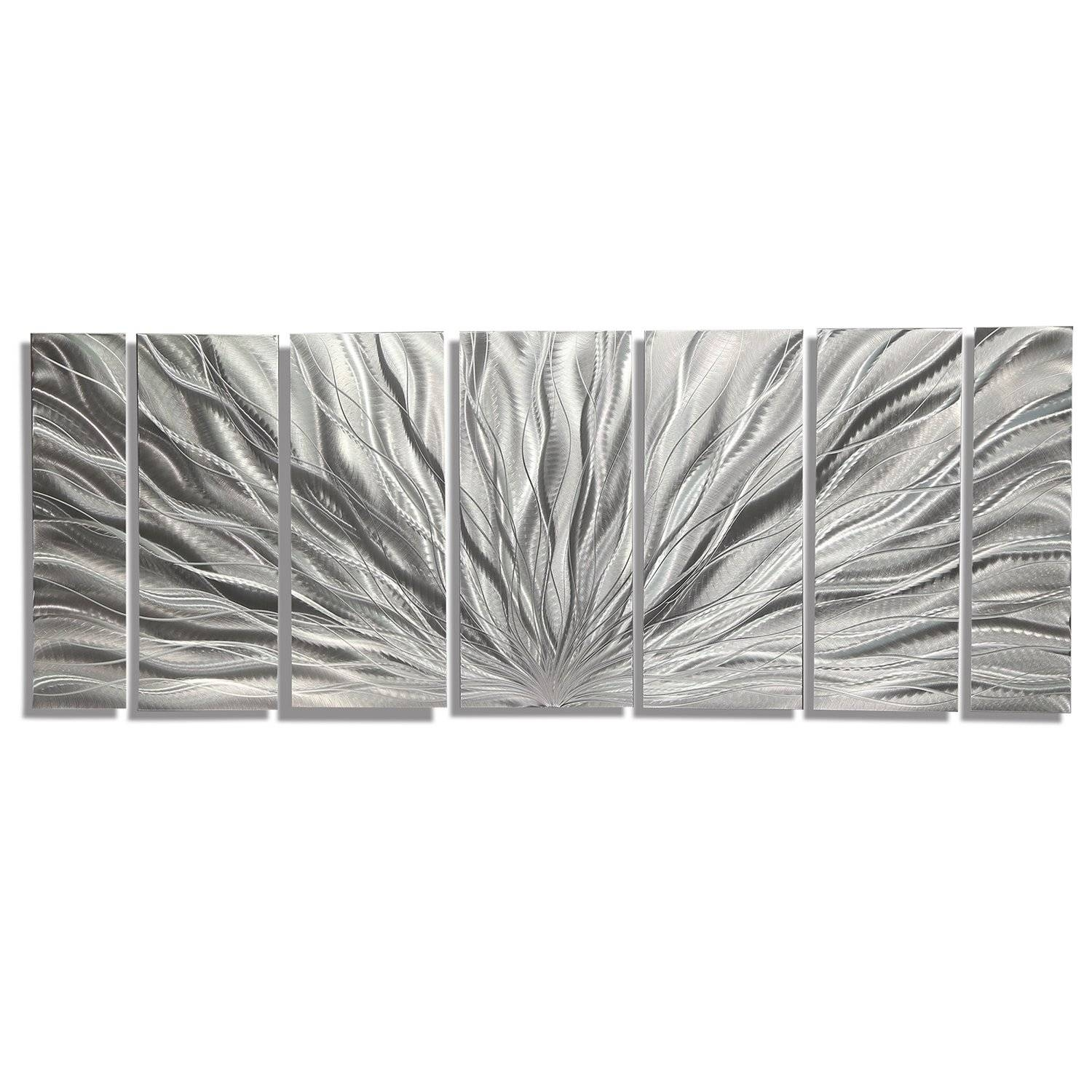 Ice Blue Etched Metal Wall Art – Super Tech For Most Popular Etched Metal Wall Art (View 6 of 20)