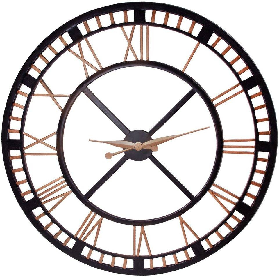 Irresistible Decoration Extra Large Wall Clock And Large Wall Intended For 2018 Large Metal Wall Art Clocks (View 11 of 20)