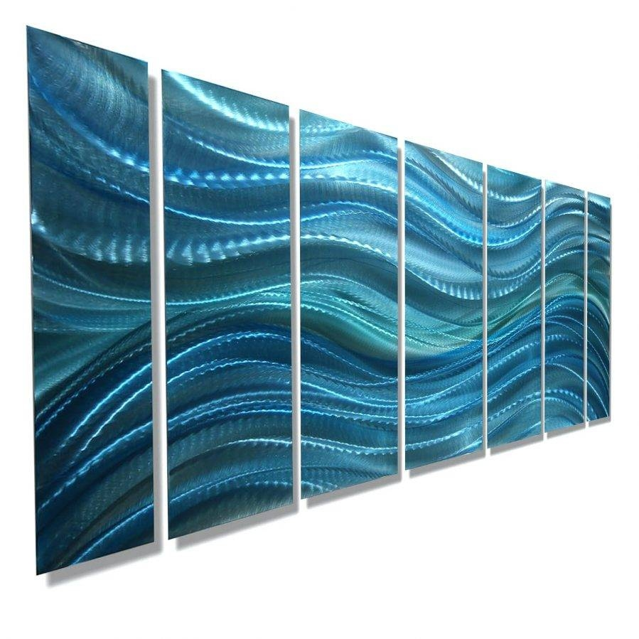 Jazz It Up Hand Crafted 'seduction' Metal Wall Art Panel – Super Tech Inside 2018 Jazz It Up Metal Wall Art (Gallery 16 of 20)