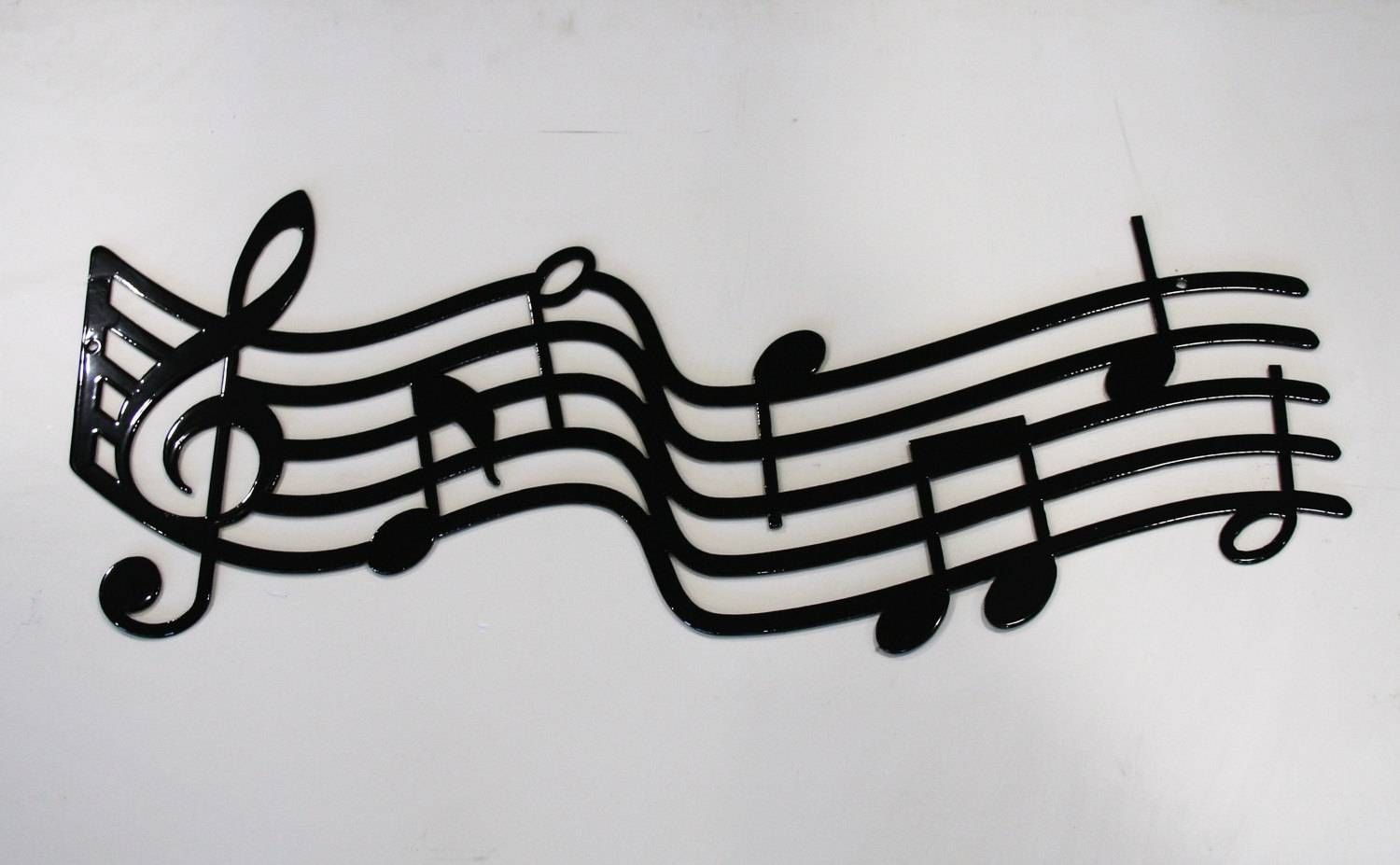 Large Metal Music Staff Wall Art, Music Gift, Music Decor, Music Inside Newest Musical Metal Wall Art (View 7 of 20)
