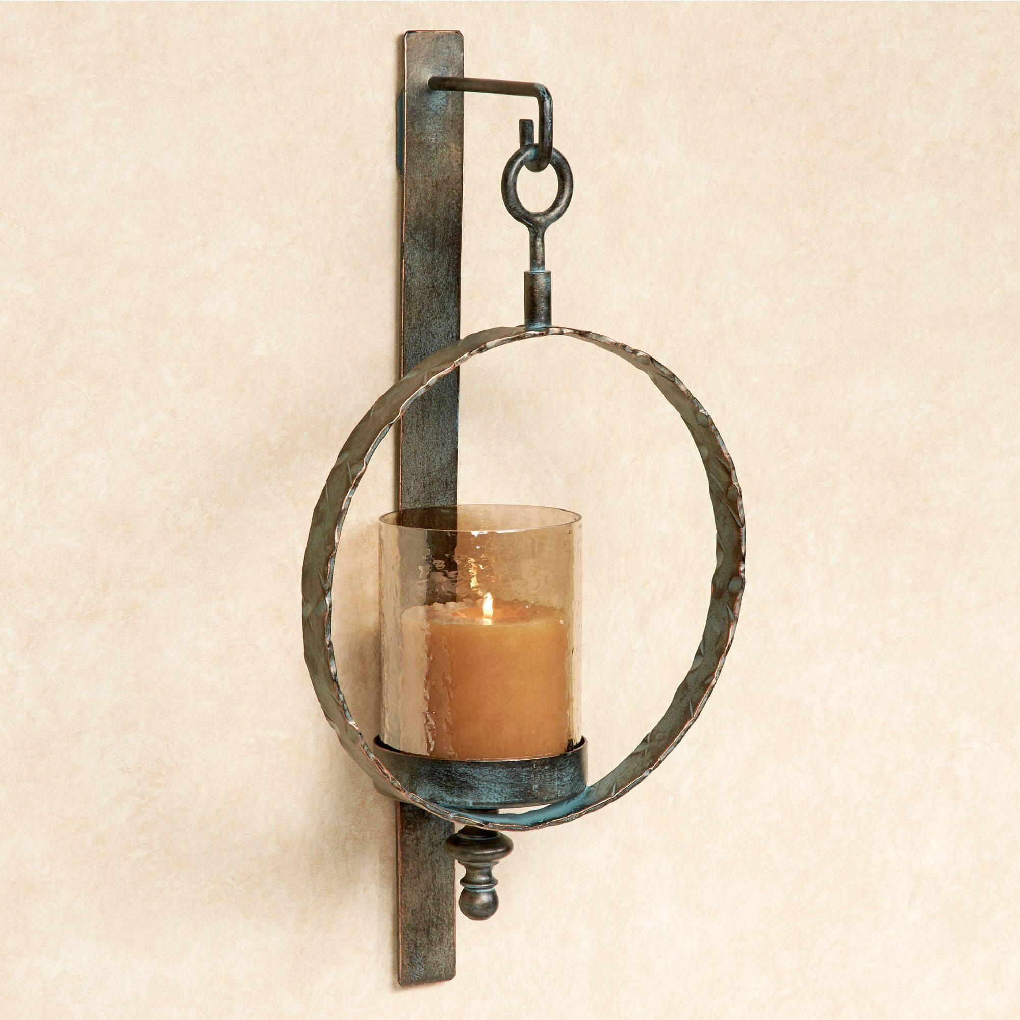 Large Wall Sconces And Candleholders   Touch Of Class For Most Recent Metal Wall Art Candle Holder (View 10 of 20)
