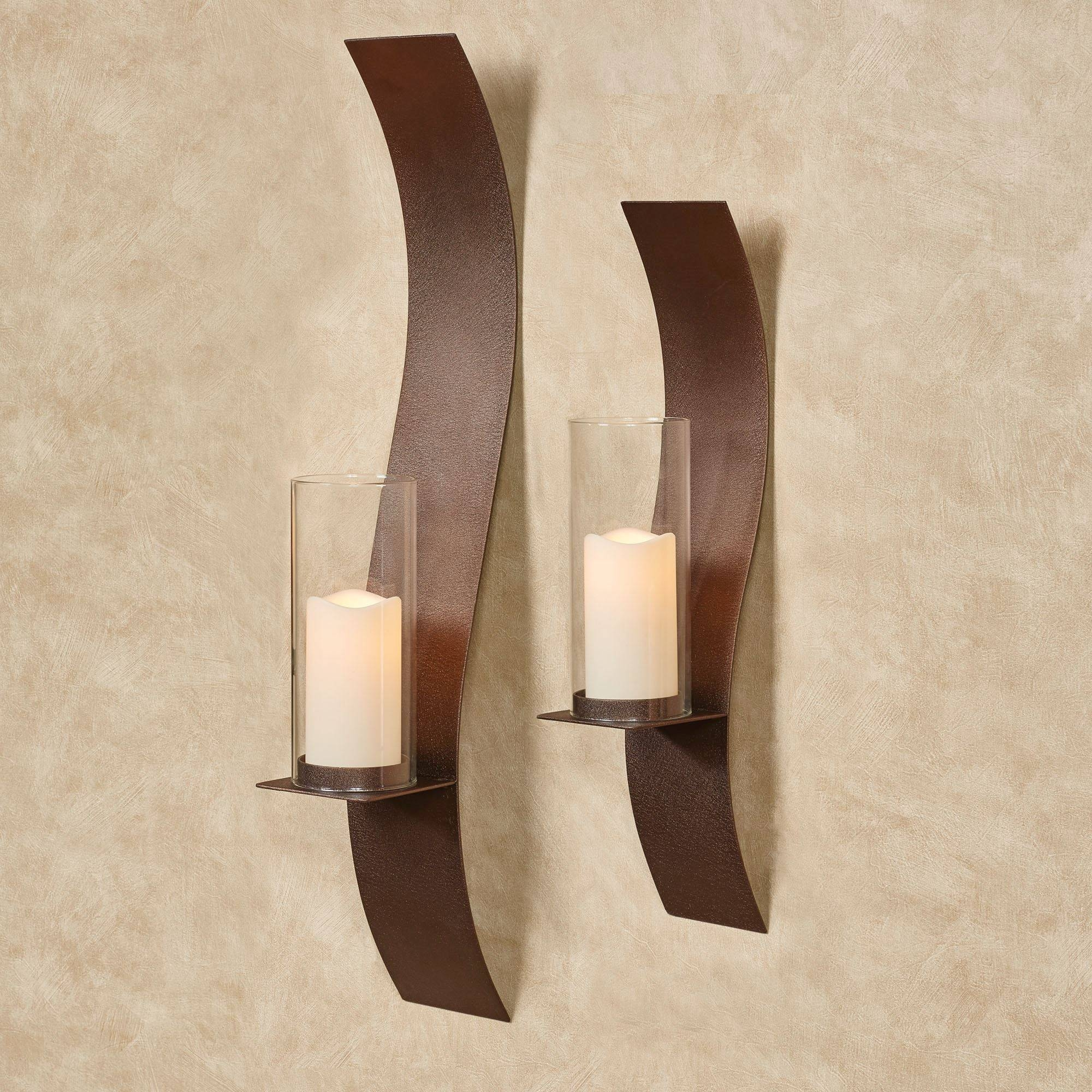 Large Wall Sconces And Candleholders | Touch Of Class In Most Recent Metal Wall Art With Candle Holders (View 12 of 20)