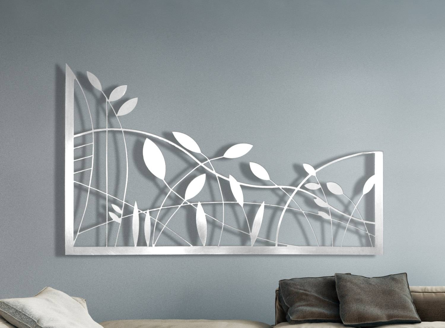 Laser Cut Metal Decorative Wall Art Panel Sculpture For Home For Latest Laser Cut Metal Wall Art (View 4 of 20)