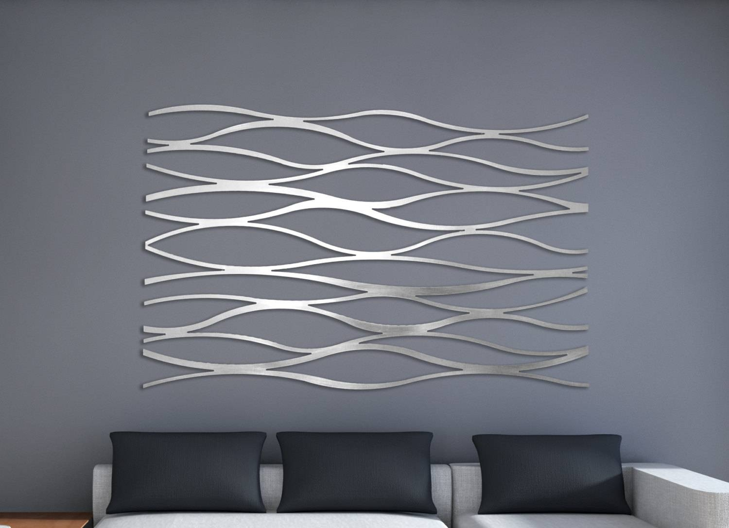 Laser Cut Metal Decorative Wall Art Panel Sculpture For Home Throughout Most Current Laser Cut Metal Wall Art (Gallery 9 of 20)