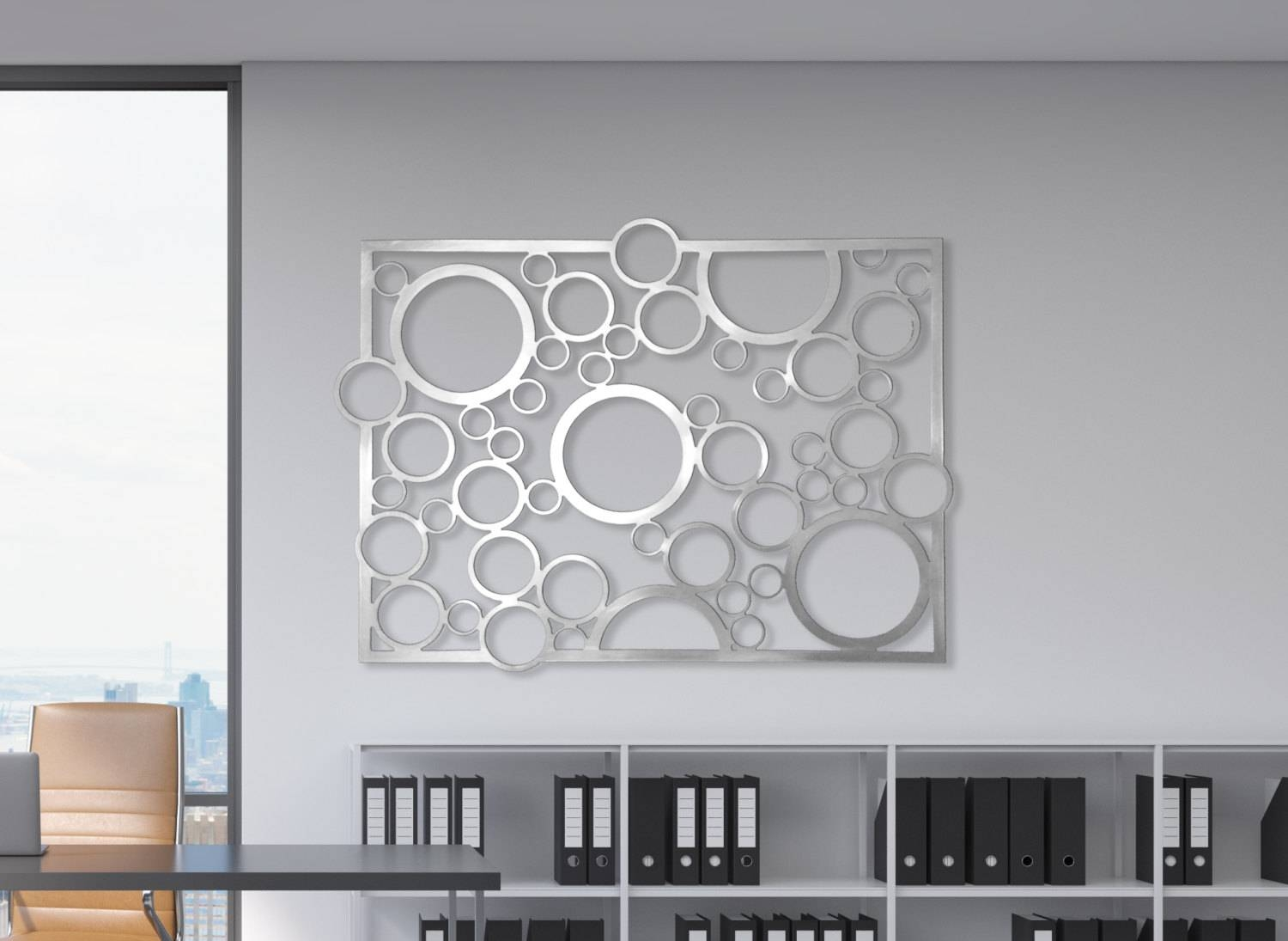 Laser Cut Metal Decorative Wall Art Panel Sculpture For Home With Regard To Most Recent Metal Wall Art Panels (View 14 of 20)