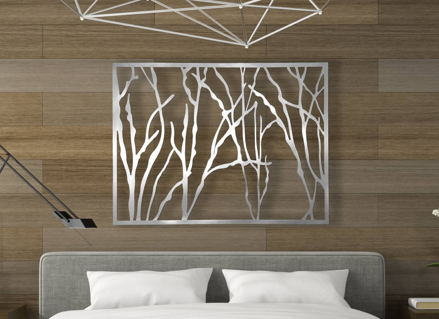 Laser Cut Metal Decorative Wall Art Panel Sculpture For Home Within Most Recently Released Indoor Metal Wall Art (View 8 of 20)