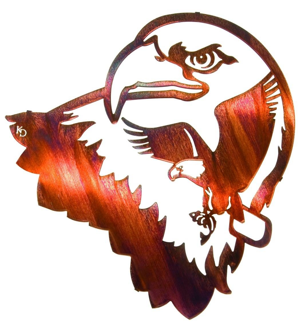 Liberty Eaglekathryn Darling – Nature Metal Wall Art For Best And Newest Nature Metal Wall Art (View 6 of 20)