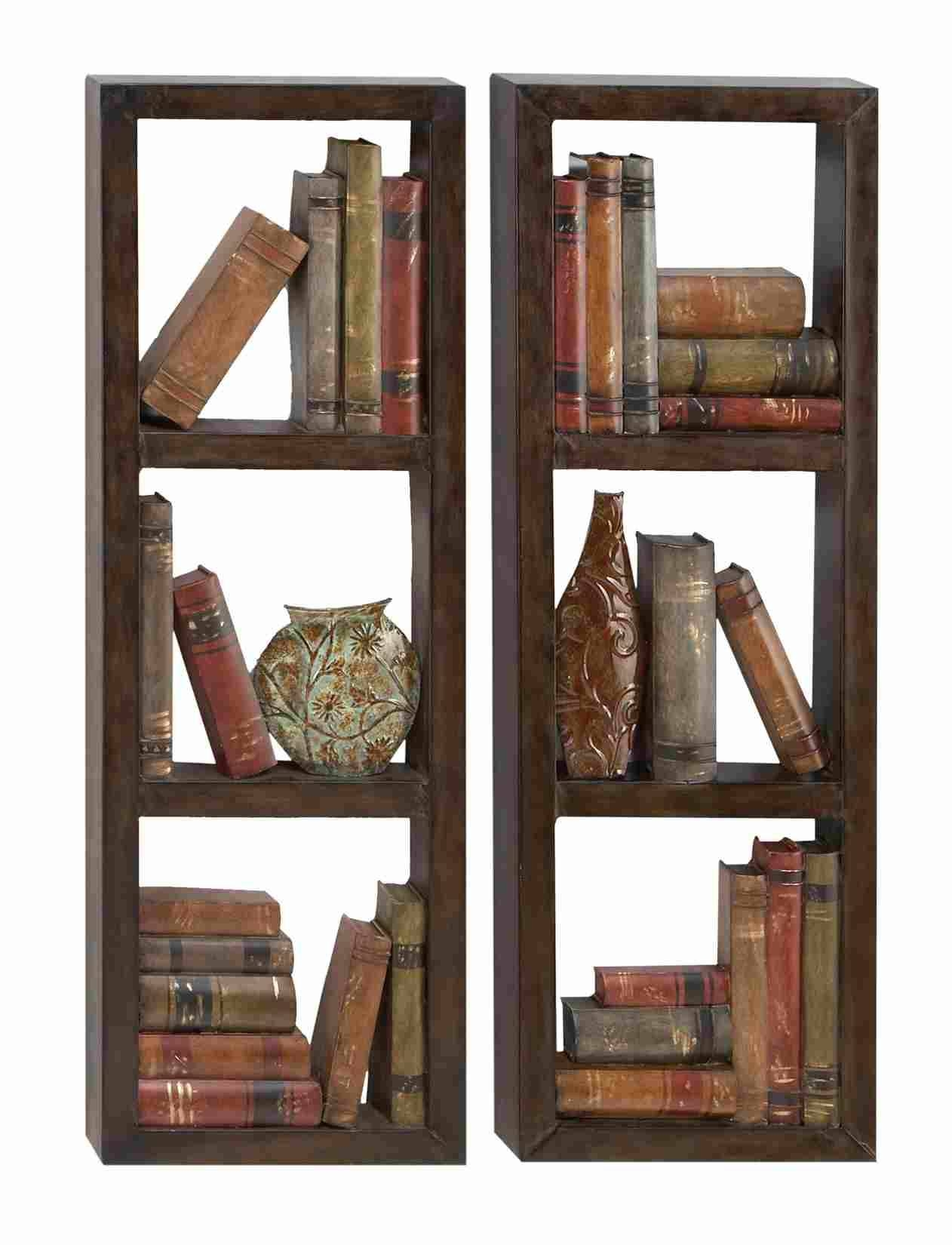 Library Shelves – Rectangle Metal Wall Art Panels Inside Recent Metal Wall Art Panels (View 11 of 20)