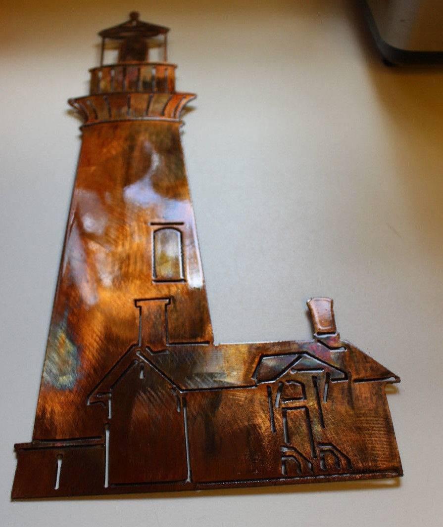 Lighthouse Metal Wall Art Regarding Best And Newest Lighthouse Metal Wall Art (View 2 of 20)