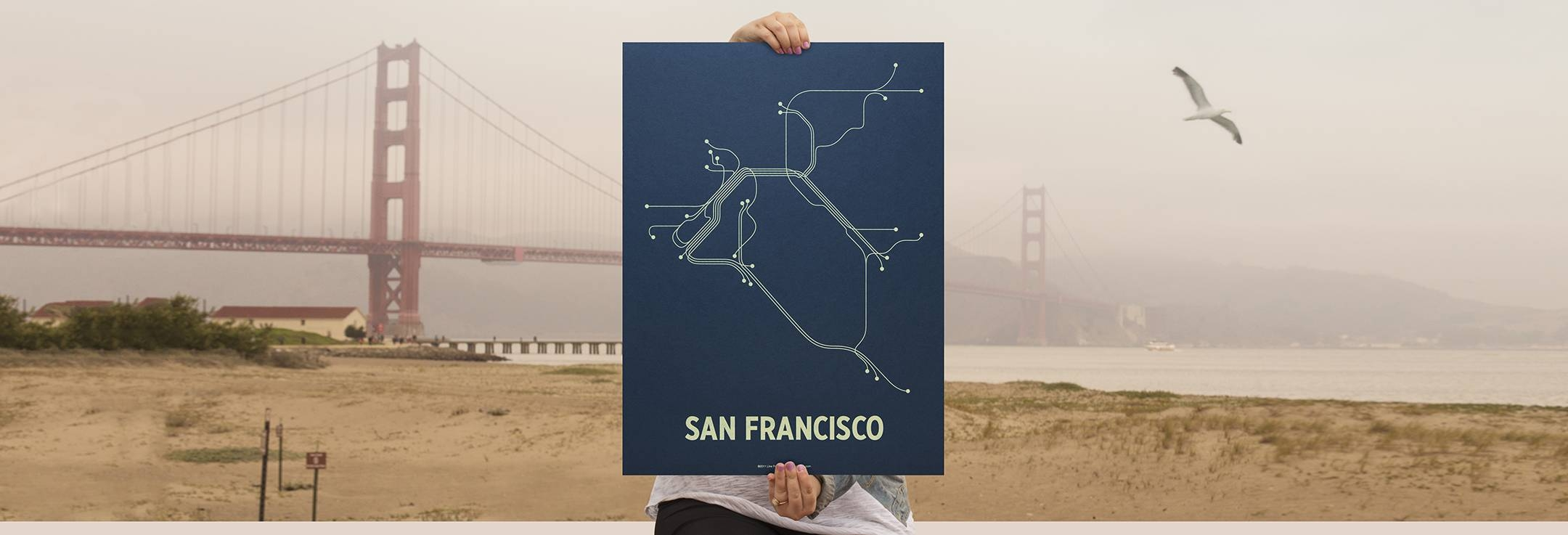Lineposters > Mass Transit Made Art For 2018 Boston Map Wall Art (View 10 of 20)