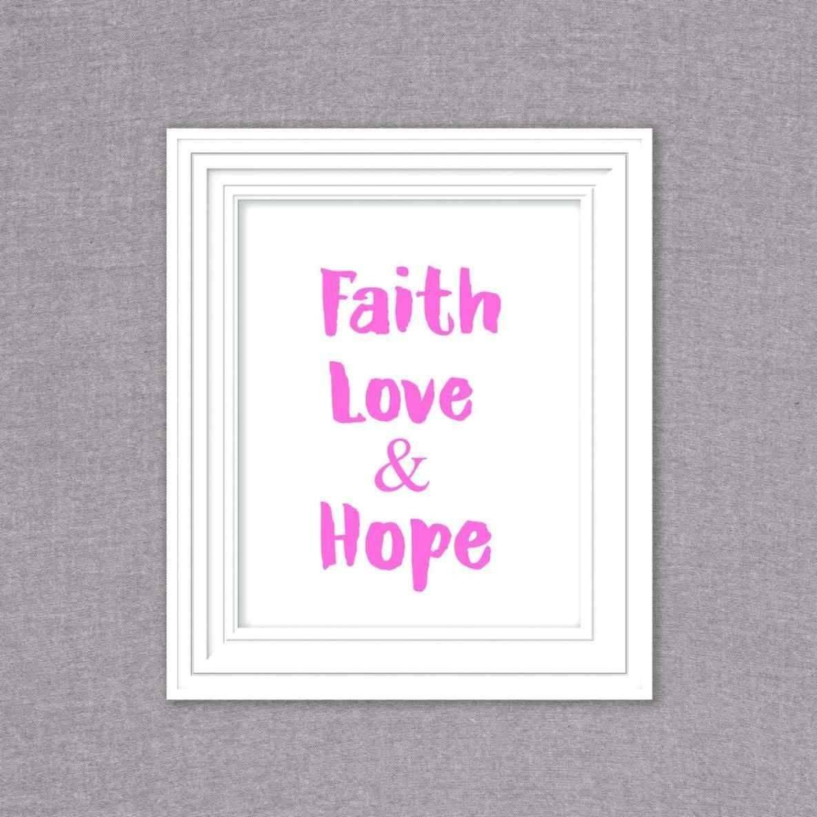 Live Laugh Love Metal Decor Home Custom Sign Family Laundry Faith Regarding Most Recent Faith Hope Love Metal Wall Art (View 10 of 20)
