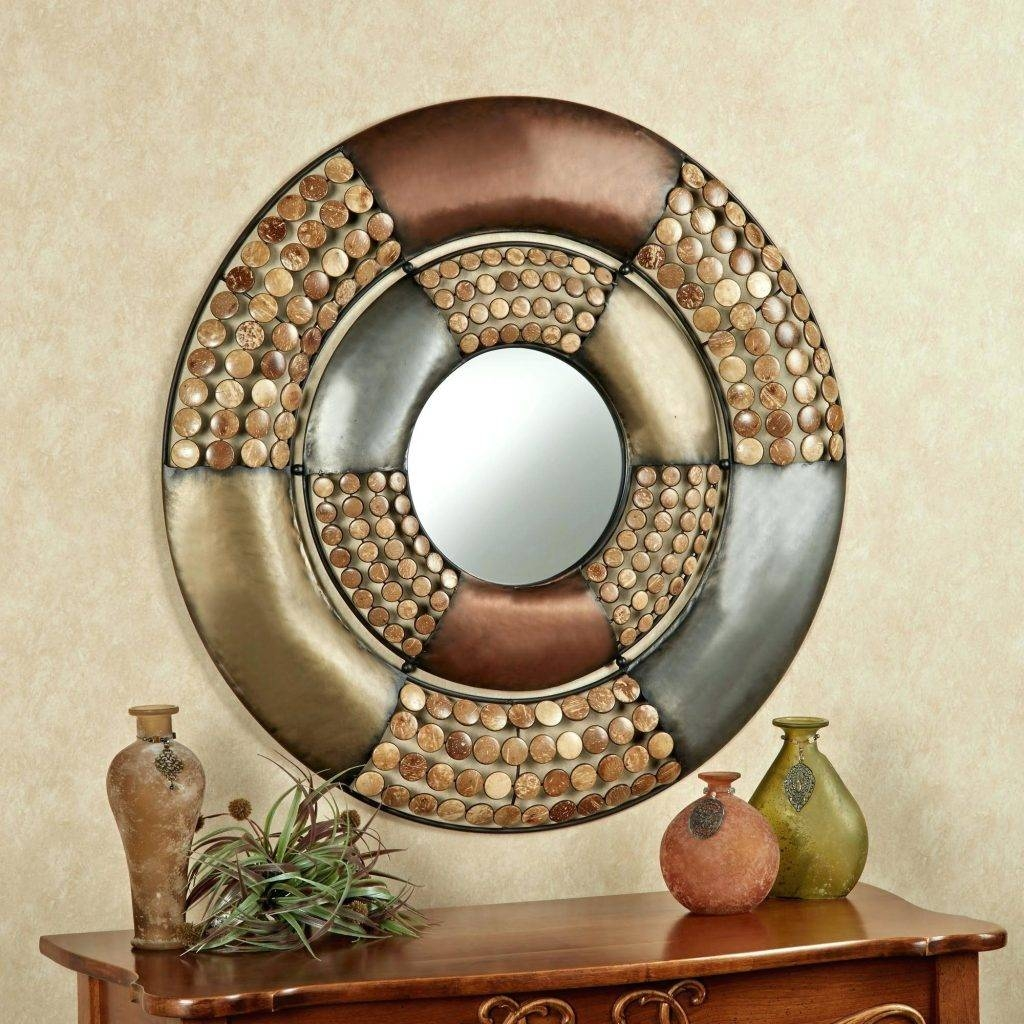 Lovely Design Metal Circle Wall Art Gold Large Circles Half Decor Within Most Up To Date Circles Metal Wall Art (View 16 of 20)